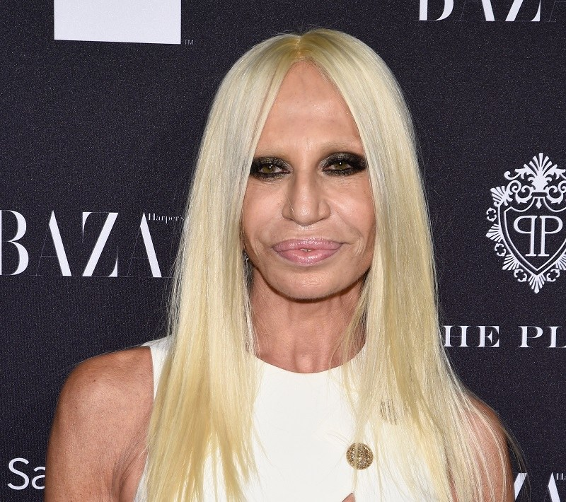 Donatella Versace /Getty Images