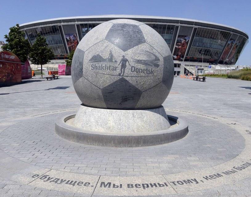 Donbass Arena w Doniecku /AFP