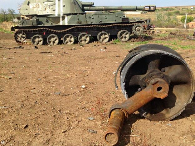 Donbass: Teren dzialan operacji antyterrorystycznych / Zdjęcie ilustracyjne /Ukrafoto /East News