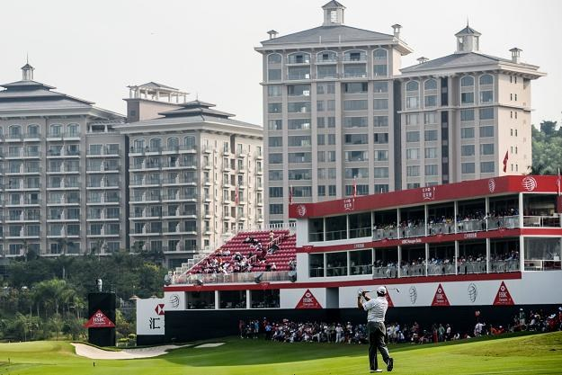 Dongguan ma piękne pole golfowe, lecz miasto jest na krawędzi bankructwa /AFP