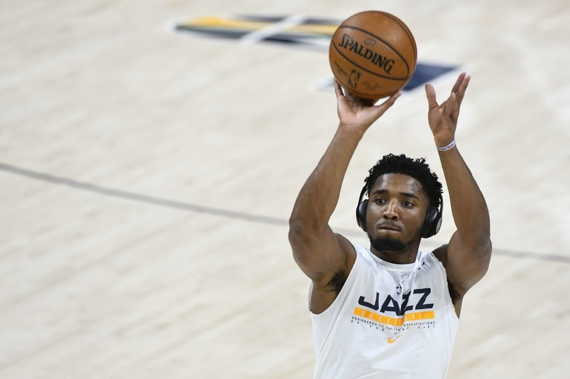 Donovan Mitchell z Utah Jazz /AFP