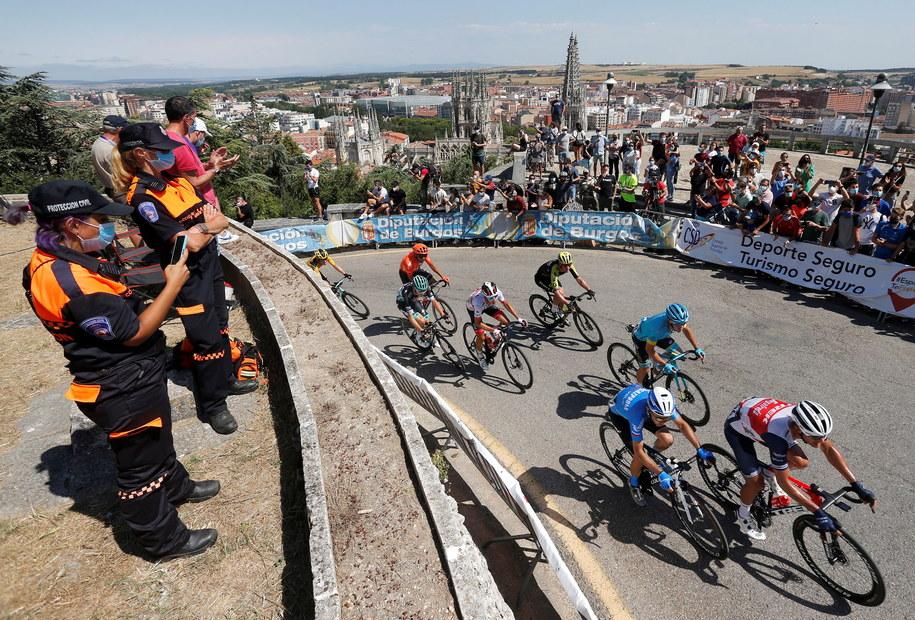 Dookoła Burgos jest jednym z pierwszych wyścigów etapowych na świecie i pierwszym w Hiszpanii po czteromiesięcznej przerwie spowodowanej pandemią koronawirusa /SANTI OTERO  /PAP/EPA