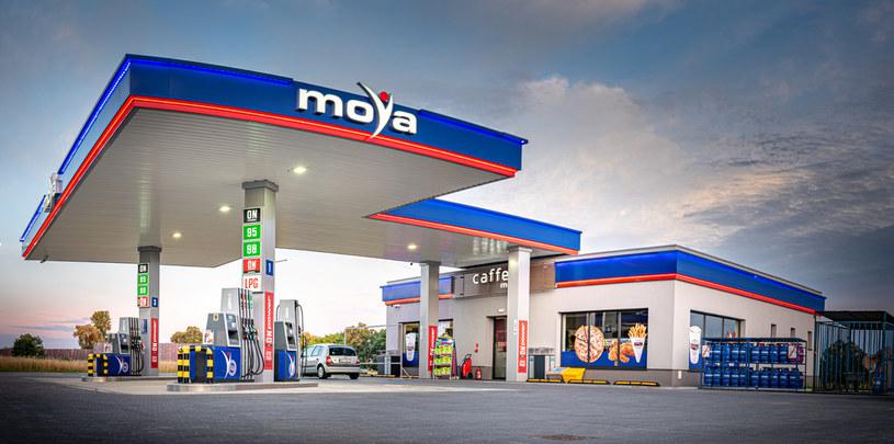 Dopełnieniem oferty MOYA są stacje samoobsługowe, MOYA express, które zlokalizowane są w większych miastach Polski /materiały promocyjne
