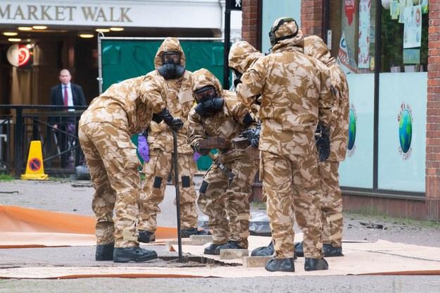 Doradca May: Brak podejrzanych w sprawie ataku na Skripala /CPL PETE BROWN / BRITISH MINISTRY OF DEFENCE/ HANDOUT /PAP/EPA