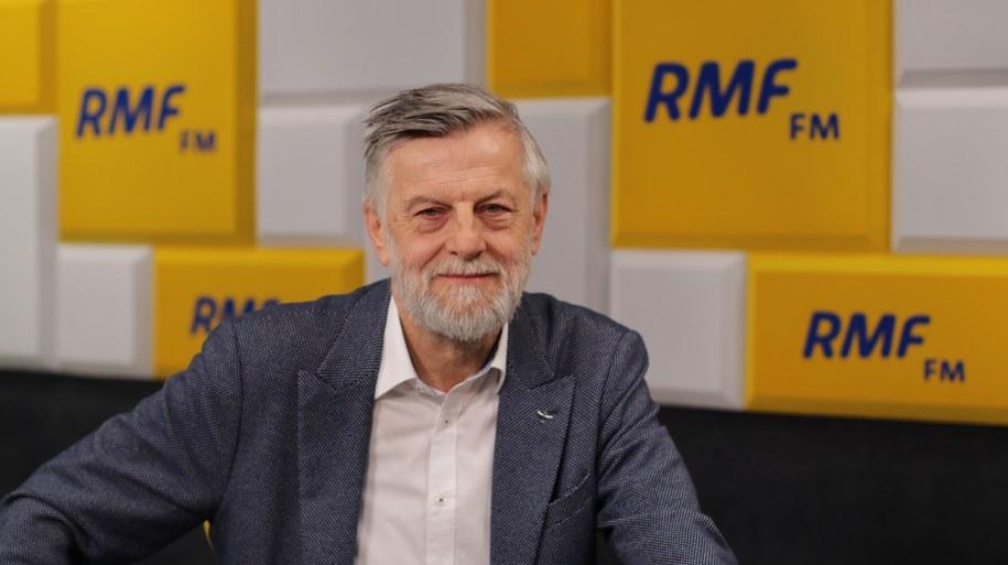 Doradca prezydenta Andrzej Zybertowicz /Karolina Bereza /RMF FM