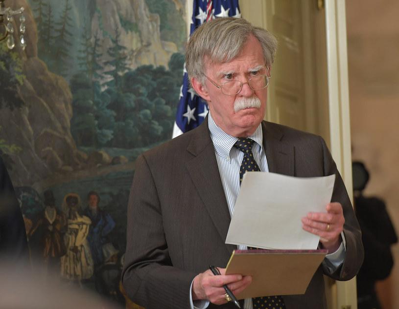 Doradca prezydenta ds. bezpieczeństwa narodowego John Bolton /MANDEL NGAN /AFP
