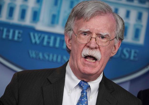 Doradca prezydenta USA ds. bezpieczeństwa narodowego John Bolton /AFP