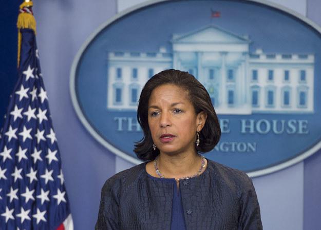 Doradczyni prezydenta USA ds. bezpieczeństwa narodowego Susan Rice /AFP