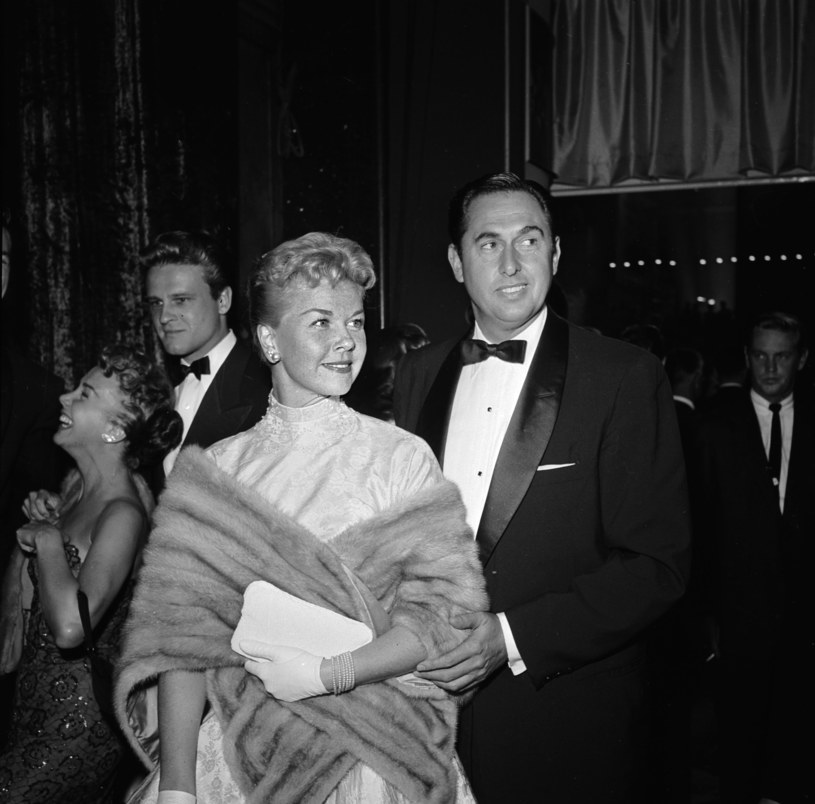 Doris Day i Marty Melcher /Jay Scott /Getty Images