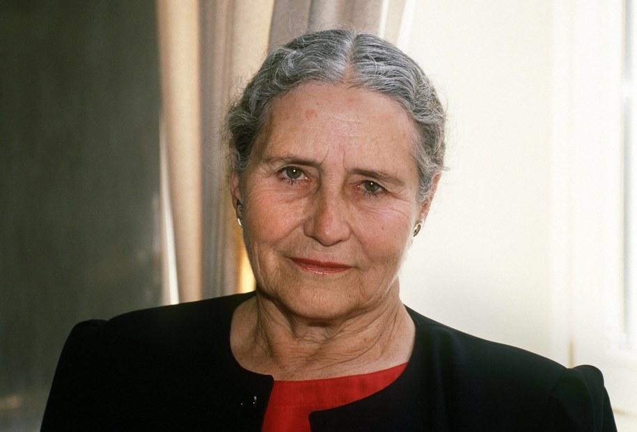 Doris Lessing / Erwin Elsner   /PAP