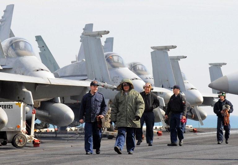 Doroczne manewry wojskowe USA i Korei Południowej /AFP