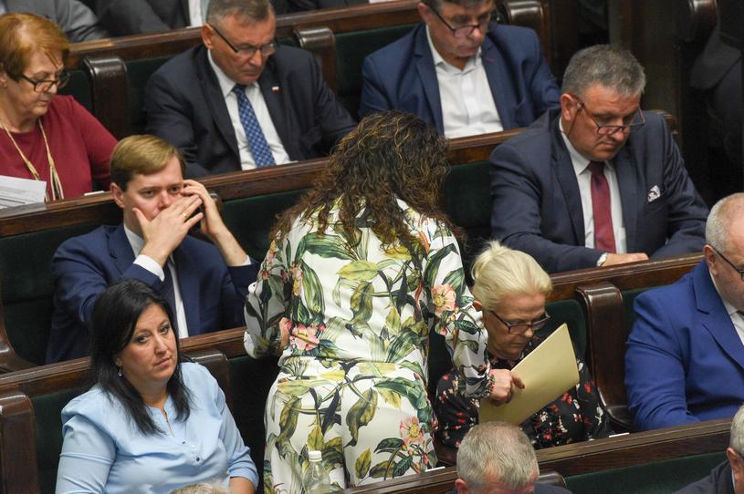 Dorota Arciszewska-Mielewczyk wyróżniła się na tle koleżanek i kolegów /Jacek Domiński /Reporter