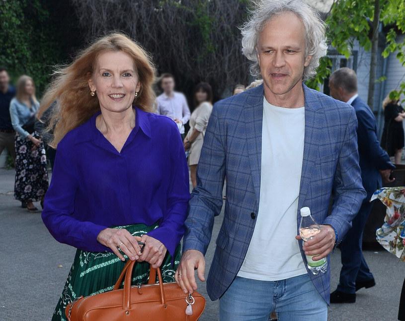 Dorota Chotecka i Radosław Pazura /VIPHOTO /East News