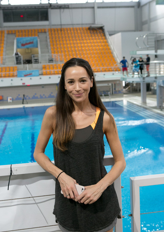 "Dorota Czaja w ""Celebrity Splash"" /K PICTURES /AKPA"