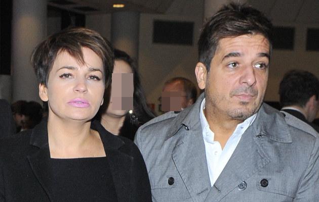 Dorota Deląg z partnerem Tomaszem /Jarosław Antoniak /MWMedia