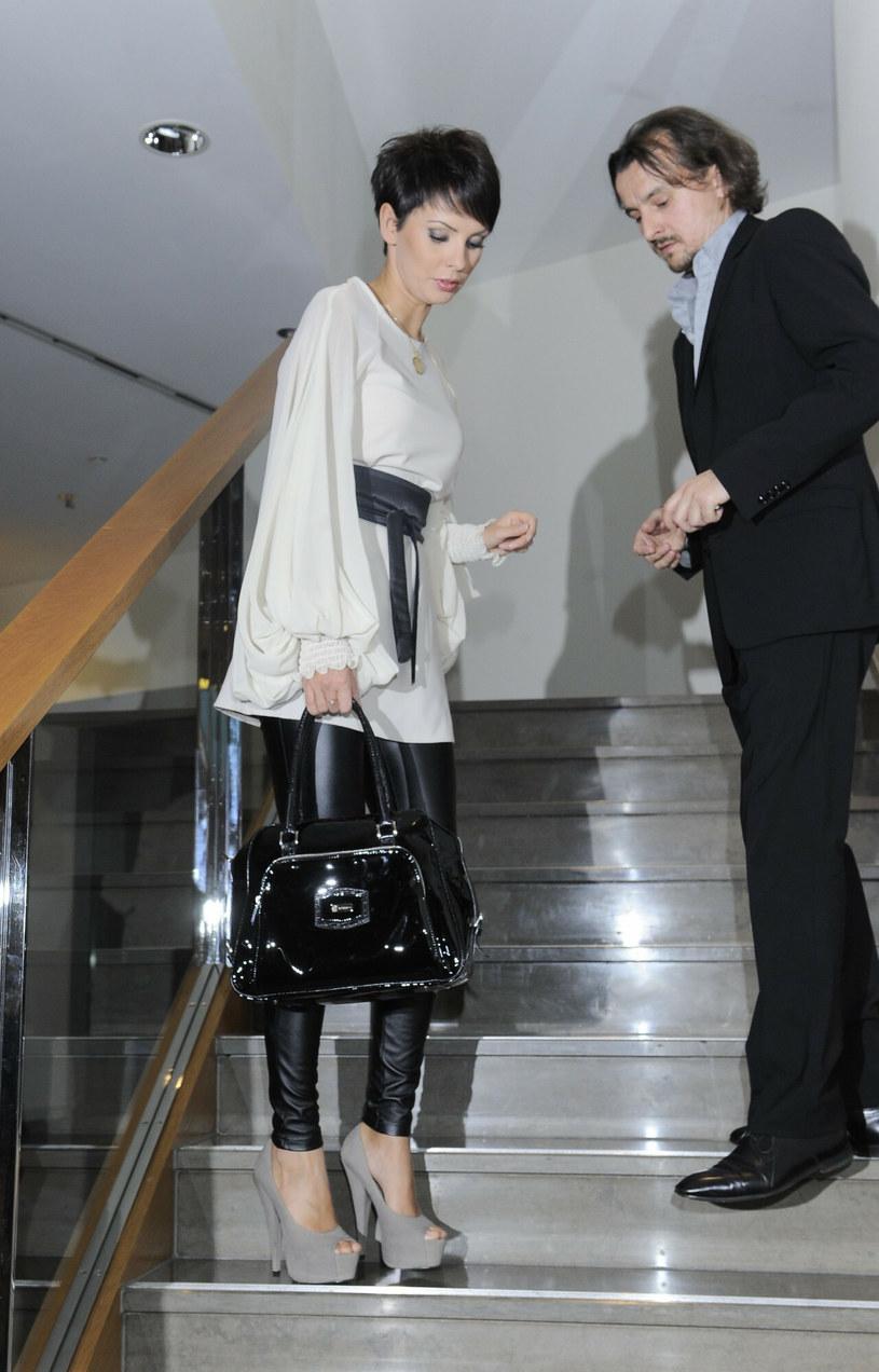 Dorota Gardias i  Konrad Wojtkerkowski, 2011 r. /Tricolors /East News