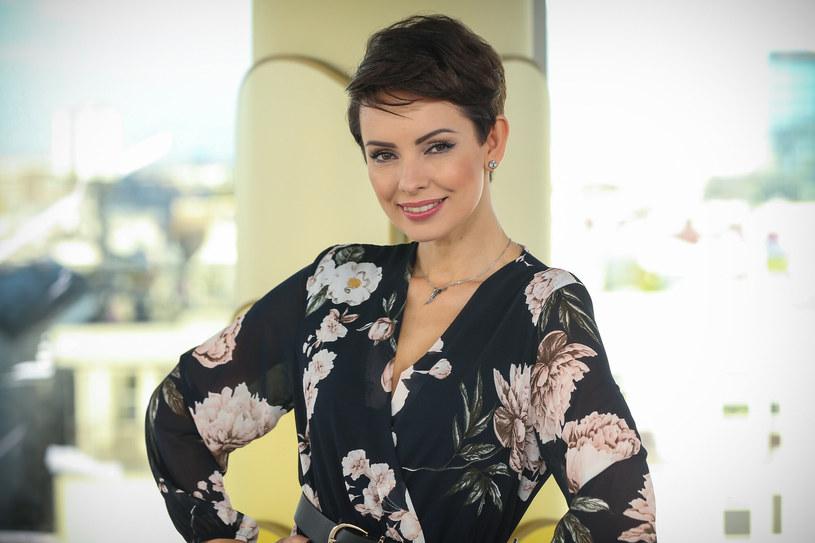 Dorota Gardias jest jedną z najpiękniejszych polskich prezenterek /Kamil Piklikiewicz/Dzień Dobry TVN /East News