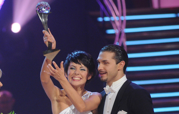 Dorota Gardias-Skóra i Andrej Mosejcuk, fot. Andras Szilagyi  /MWMedia