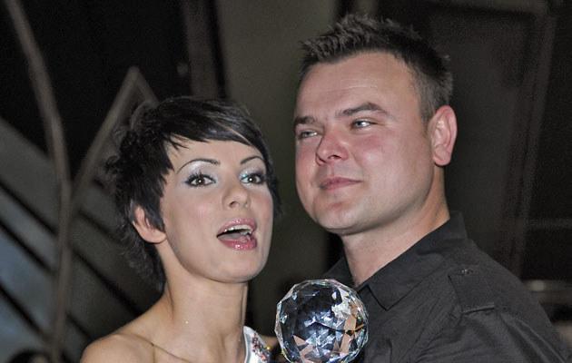 Dorota Gardias-Skóra z mężem, fot. Andras Szilagyi  /MWMedia
