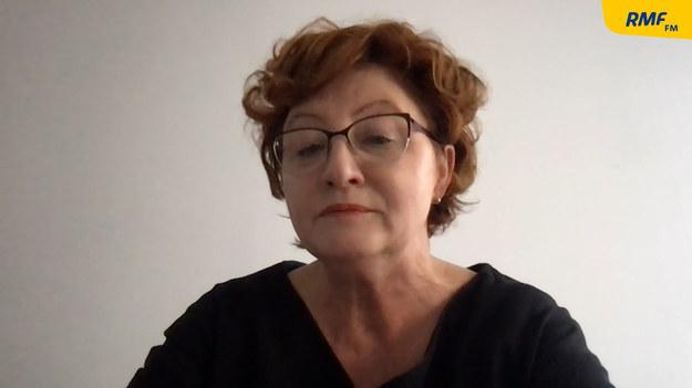 Dorota Gardias, szefowa Forum Związków Zawodowych i wiceszefowa Rady Dialogu Społecznego, była przewodnicząca Ogólnopolskiego Związku Zawodowego Pielęgniarek i Położnych /Jakub Rutka /RMF FM