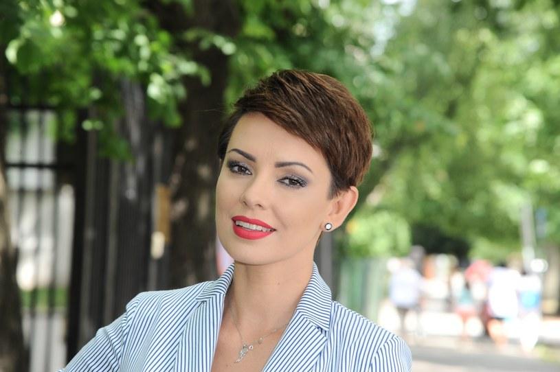 Dorota Gardias uważa, że na osobach publicznych spoczywa duża odpowiedzialność, jeśli chodzi o wypowiadanie się /Artur Zawadzki /Reporter