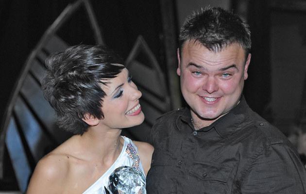 Dorota Gardias z mężem, fot. Andras Szilagyi  /MWMedia
