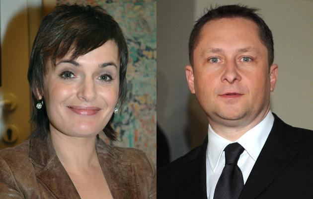 Dorota Gawryluk (fot.Marek Ulatowski), Kamil Durczok (fot.Andrzej Szilagyi)  /MWMedia