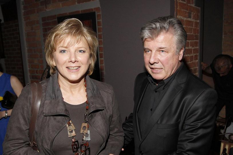 Dorota Kamińska i jej brat Emilian Kamiński /AKPA