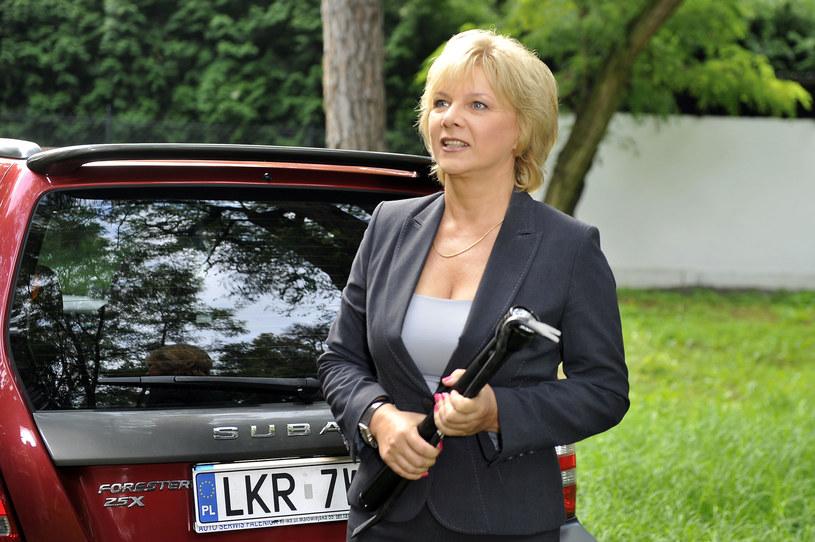"Dorota Kamińska w serialu ""Plebania"" /Kurnikowski /AKPA"