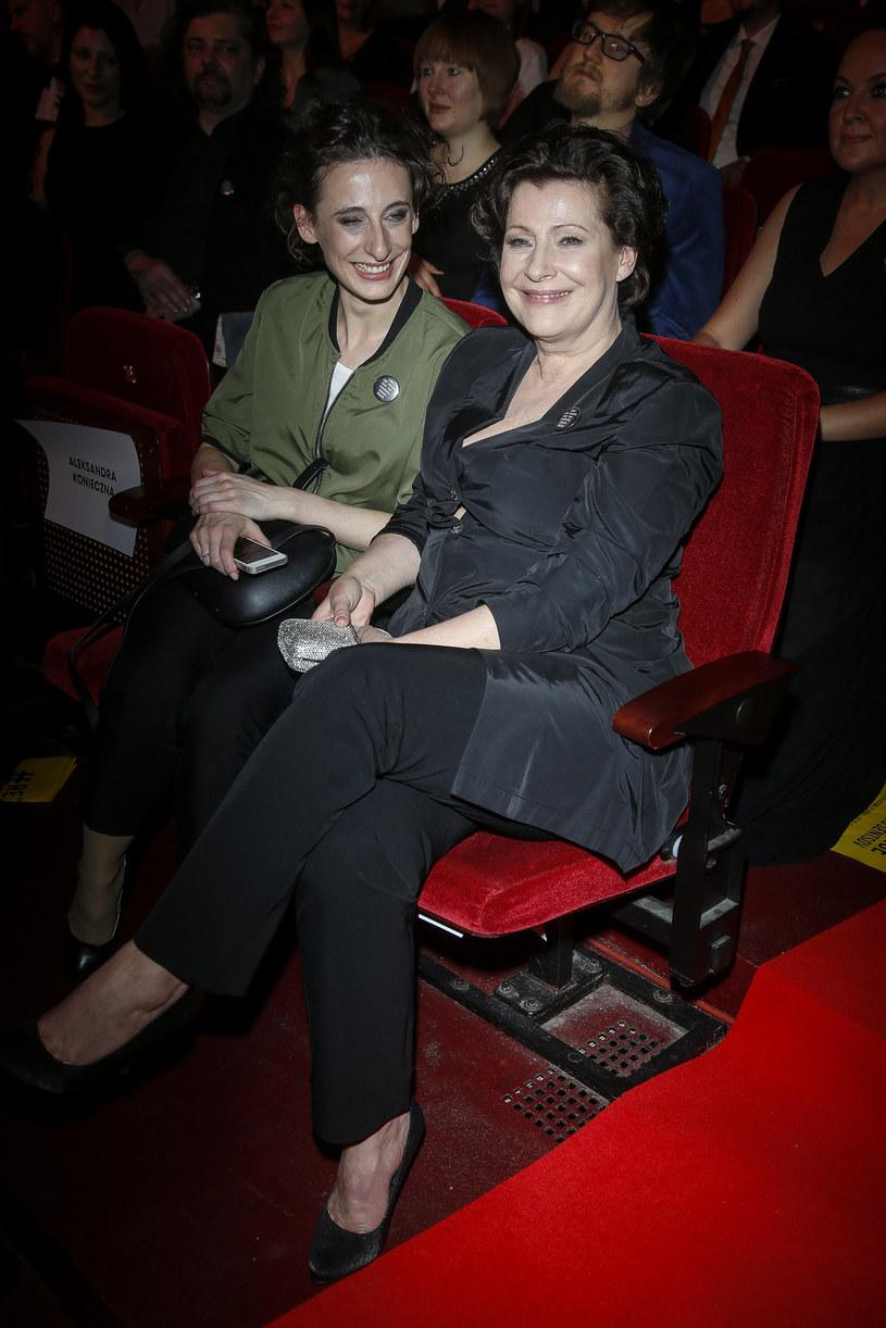 Dorota Kolak z córką Katarzyną /Baranowski /AKPA