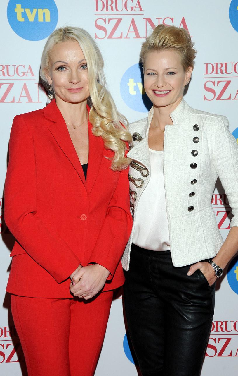 """Dorota Kośmicka-Gacke (z lewej) odchodzi z """"Drugiej szansy"""" /Agencja W. Impact"""