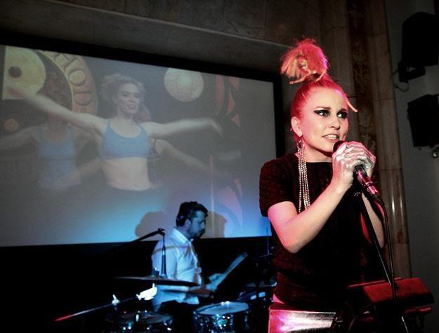 Dorota Masłowska śpiewa, choć nie umie (fot. Adam Jankowski) /Reporter