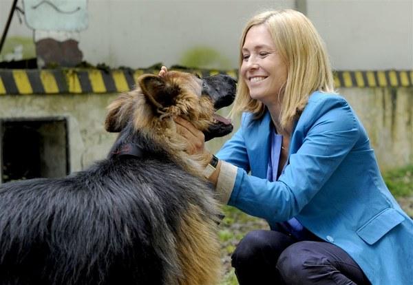 Dorota Naruszewicz szybko zaprzyjaźniła się z głównym bohaterem serialu