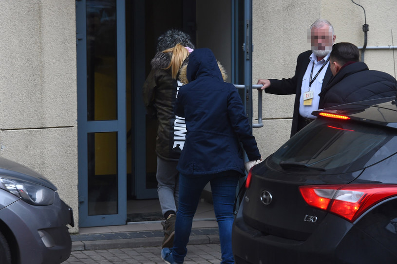 Dorota R. doprowadzona do prokuratury /Mateusz Jagielski /East News