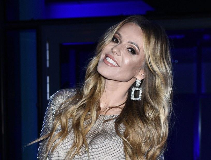 """Dorota Rabczewska-Stępień podczas """"Flesz Fashion Night 2019"""" /VIPHOTO /East News"""