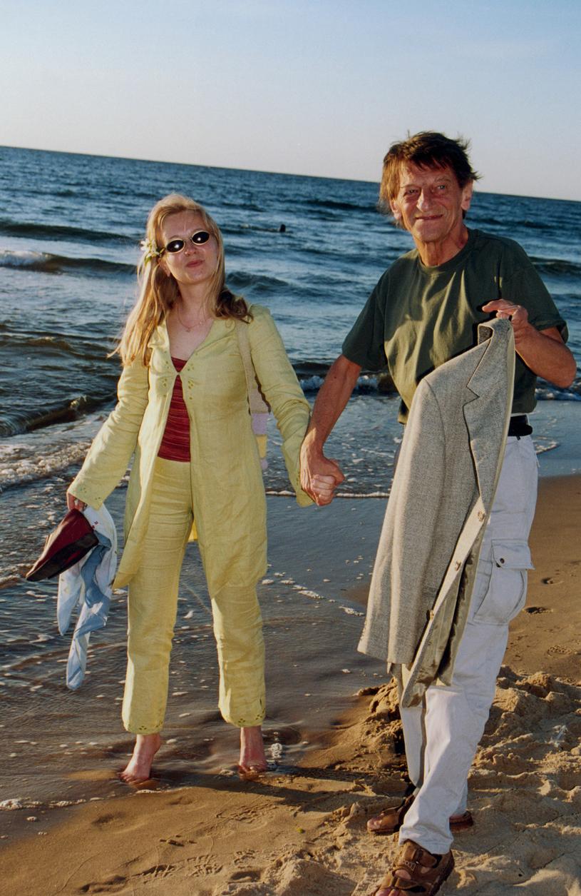 Dorota Segda i Stanisław Radwan, 2001 rok /Mikulski /AKPA