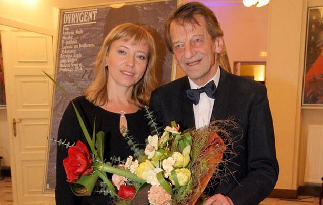 Dorota Segda i Stanisław Radwan są razem od 20 lat /Damian Klamka /East News
