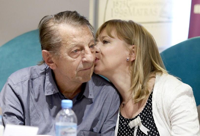 Dorota Segda i Stanisław Radwan w 2015 roku /Damian Klamka /East News