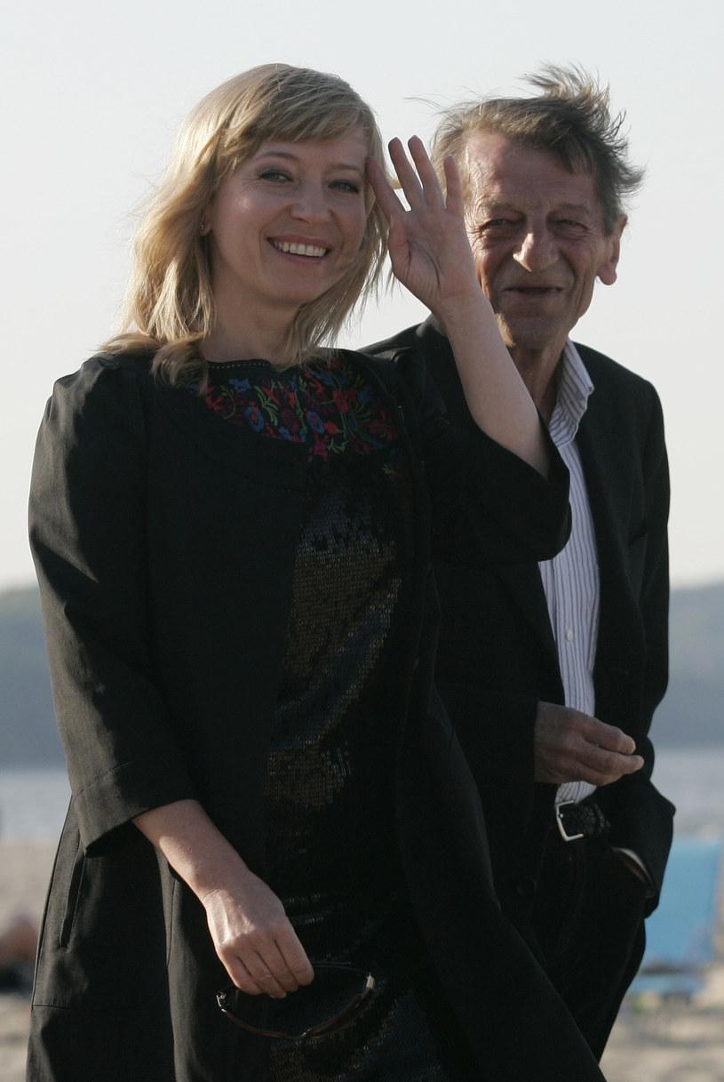 Dorota Segda z mężem / Studio69 - Krzysztof Mystkowski /Agencja FORUM