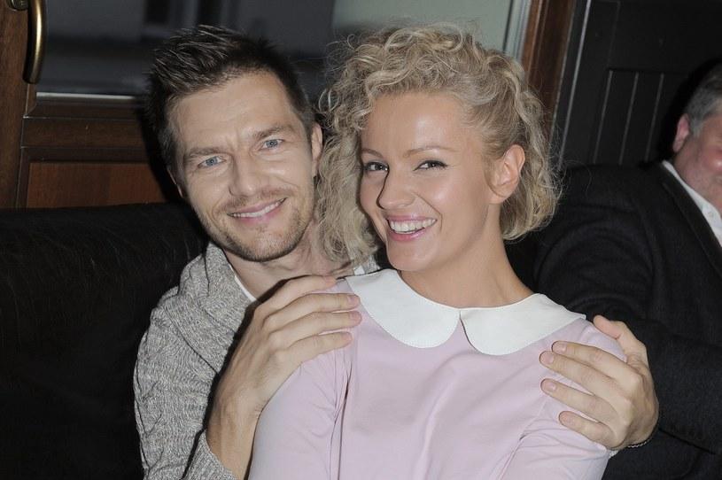 Dorota Szelągowska i Adam Sztaba w 2012 roku /Tricolors /East News