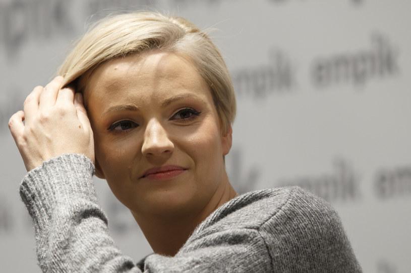 Dorota Szelągowska nie traci humoru mimo przeciwności losu /Krystian Maj /Agencja FORUM