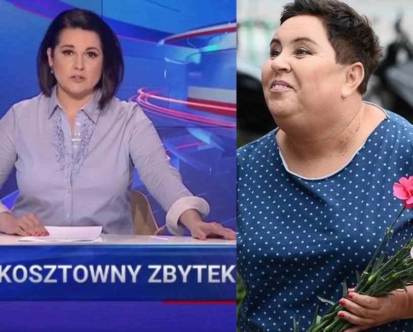 """Dorota Wellman bohaterką """"Wiadomości"""" (Screen:wiadomosci.tvp.pl/MWMedia) /materiały prasowe"""