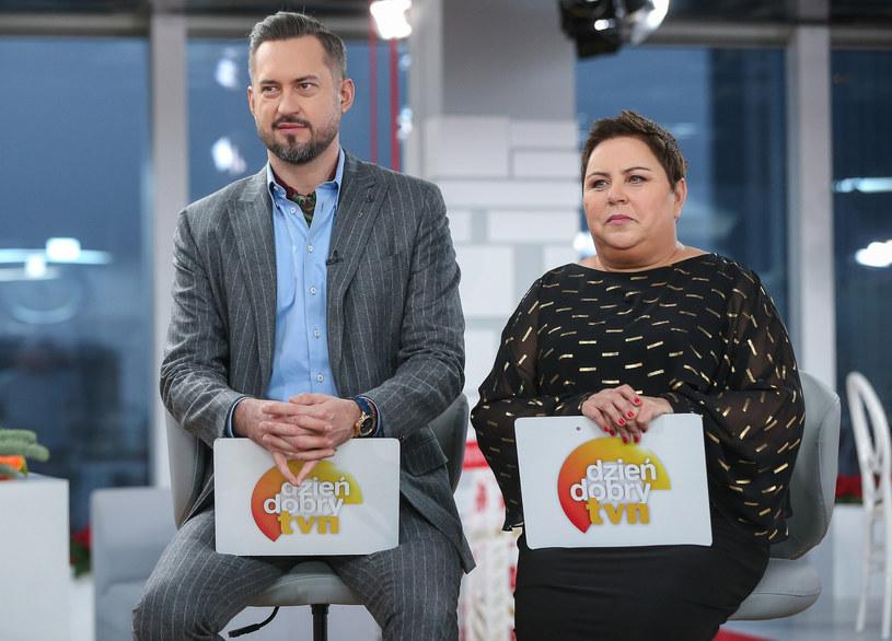 Dorota Wellman i Marcin Prokop /Kamil Piklikiewicz /East News