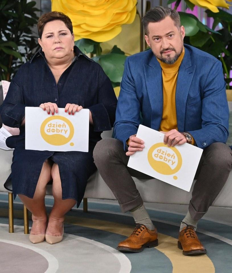 Dorota Wellman i Marcin Prokop /Mateusz Jagielski /East News
