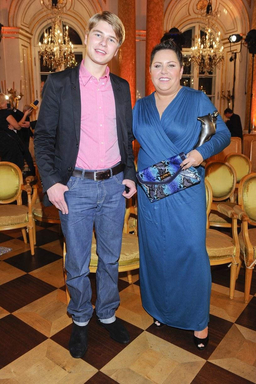 Dorota Wellman z synem /VIPHOTO /East News
