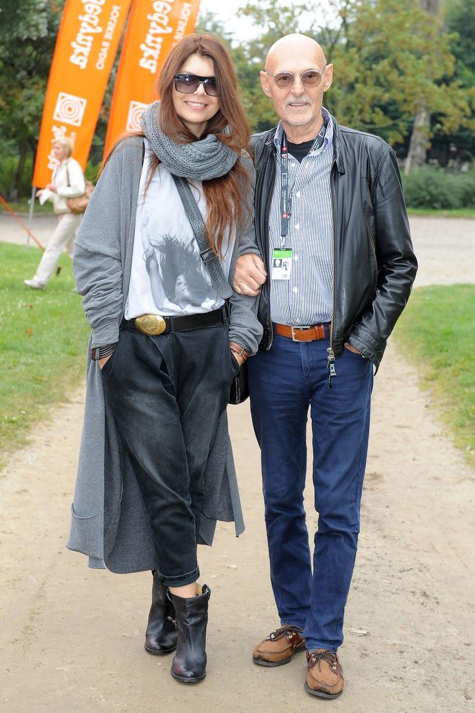 Dorota Wróblewska z mężem Włodzimierzem /Andras Szilagyi /MWMedia