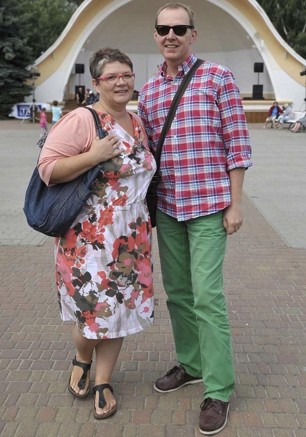 Dorota Zawadzka z mężem Robertem, fot.Niemiec  /AKPA