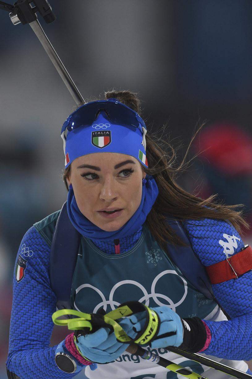 Dorothea Wierer, włoska biathlonistka /AFP