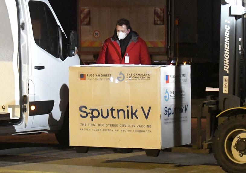 Dostawa Sputnika V na Słowację. Zdjęcie archiwalne /TASR Slovakia/Associated Press/East News /East News
