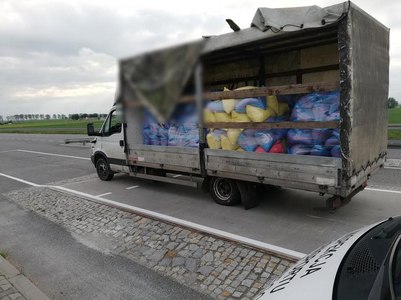 Dostawczak przeciążony o 5,5 tony /ITD